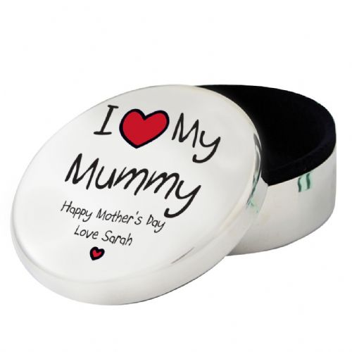 Personalised I Heart My...Round Trinket